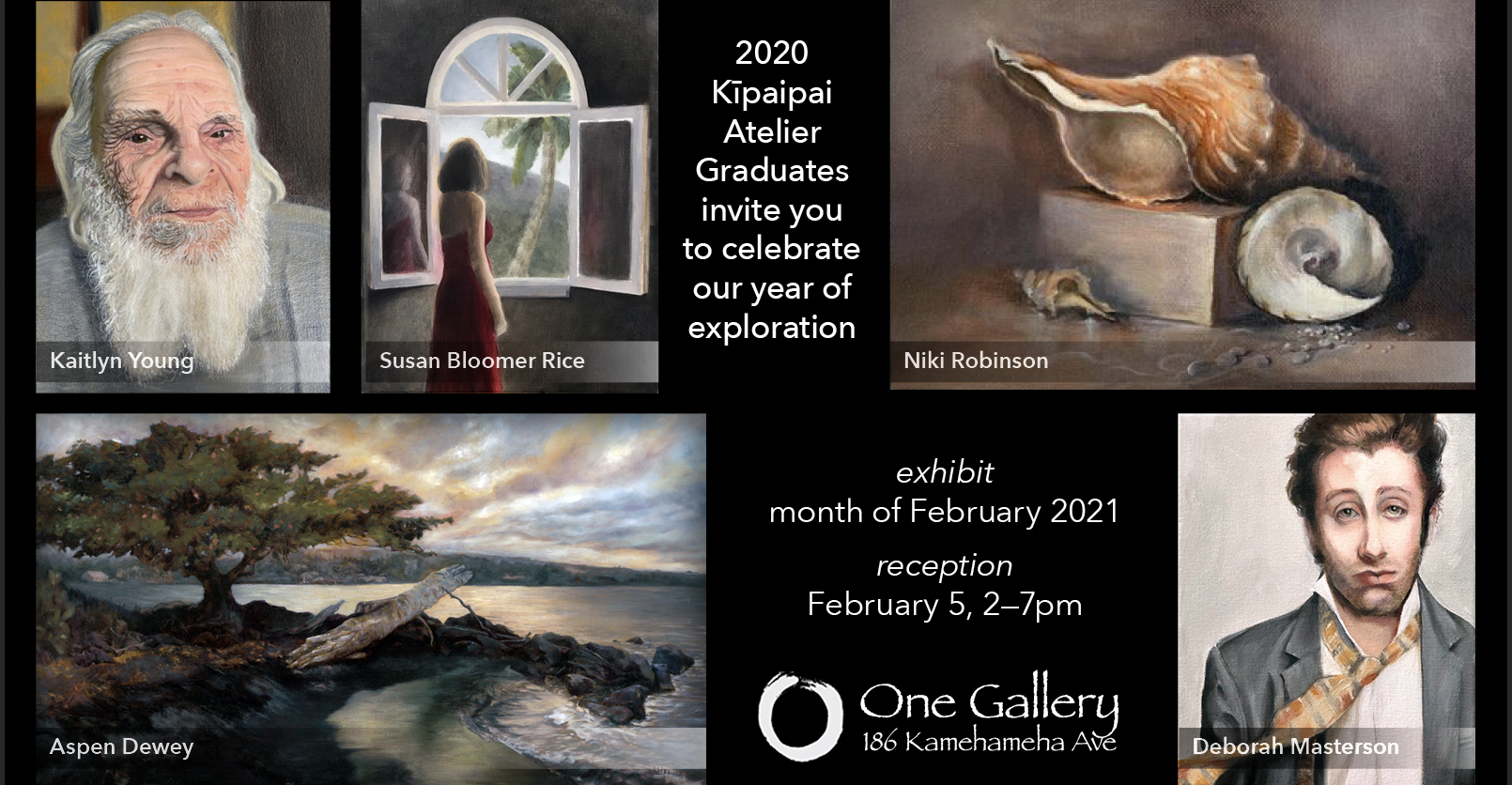 Kīpaipai 2020 Grads' Art Show at One Gallery